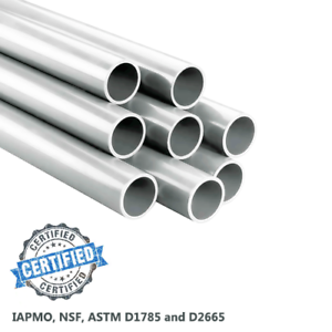 PVC PIPE ANY LENGTH SCHEDULE 40 3//4 IN