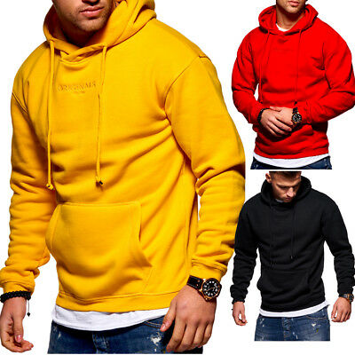 Tazzio Fashion Hoody Sweater con Cappuccio-Pullover con Borsa Maglione Felpa Hoodie