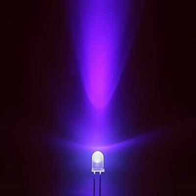 100Pcs F5 5Mm Warm White Round Super Bright Led Light Led Lamp ey