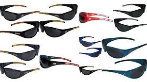 NHL-Team-Sunglasses-3-Dot-Wrap-Sunglasses-UV-400-Choose-Your-Team