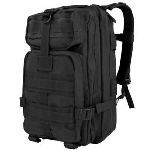 CONDOR 126-002 22L Compact Assault Backpack US Army Pack MOLLE Outdoor Black