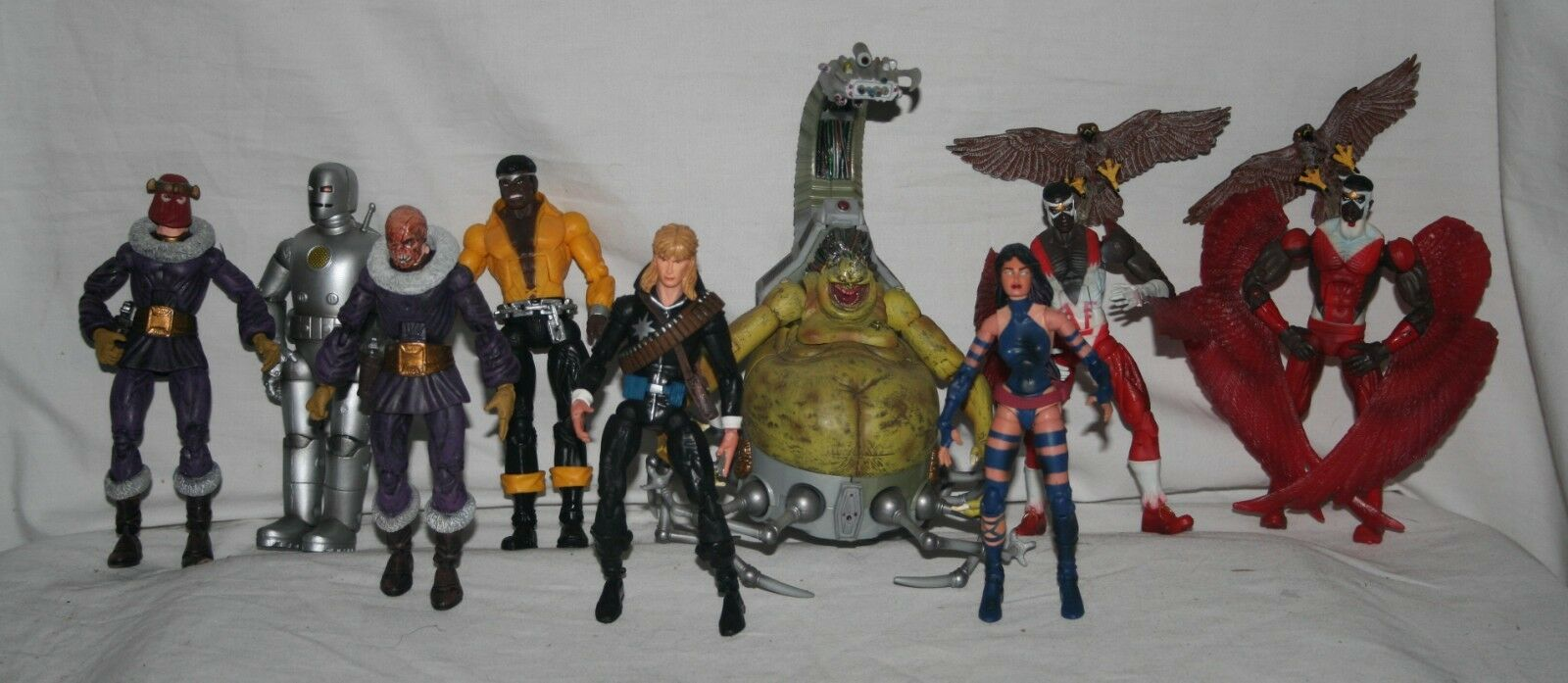 Marvel legends series 14 2006 BAF mojo complete set regular and variants