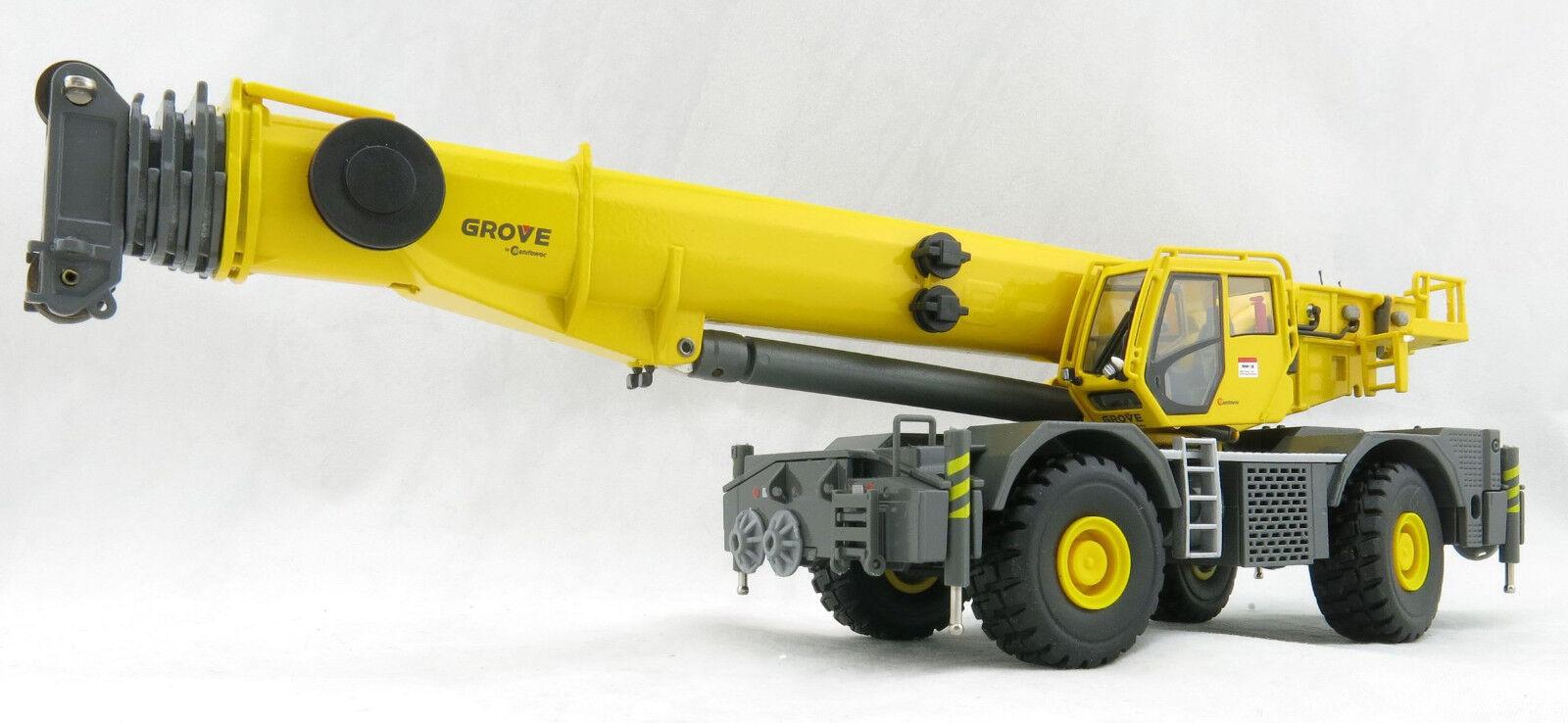 Conrad 2117 0 GROVE GRT 8100 Rough Terrain Mobile Crane - Scale 1 50