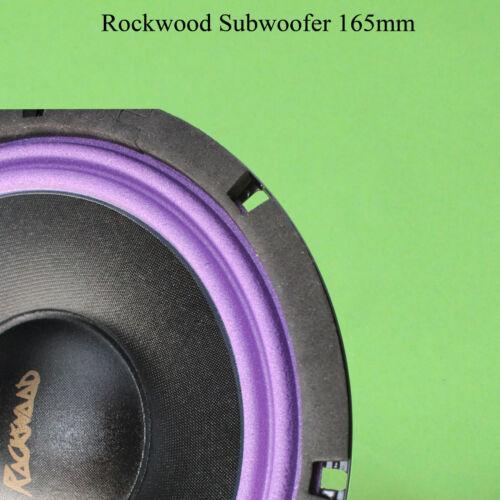 360 Rockwood doble schwingspulen subwoofer 165mm altavoces 6,5 pulgadas