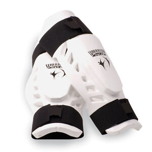 Taekwondo-Karate-MMA-Shin-Forearm-Protector-Leg-Arm-Guard-Sparring-Gear-WARRIOR