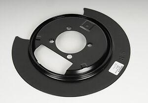 Brake Dust Shield Rear Right ACDelco GM Original Equipment 25990033