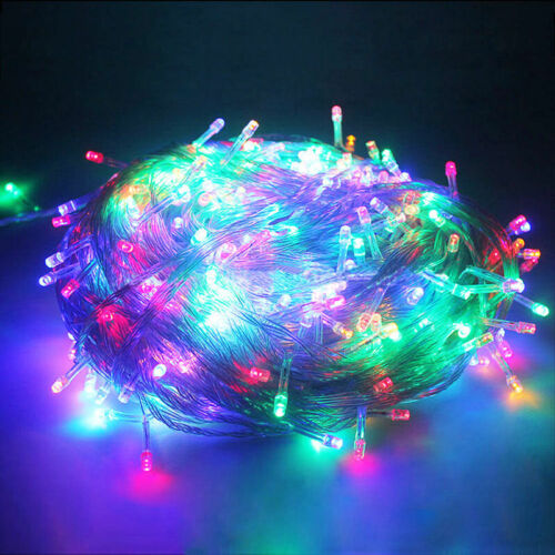 10m 100 LED String Fairy Lights Wedding Curtain Lamp Home Party Holiday Decor aa