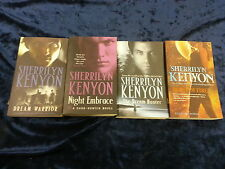 4 FANTASTIC NOVELS by SHERRILYN KENYON ** UK POST £3.25 ** PAPERBACKS