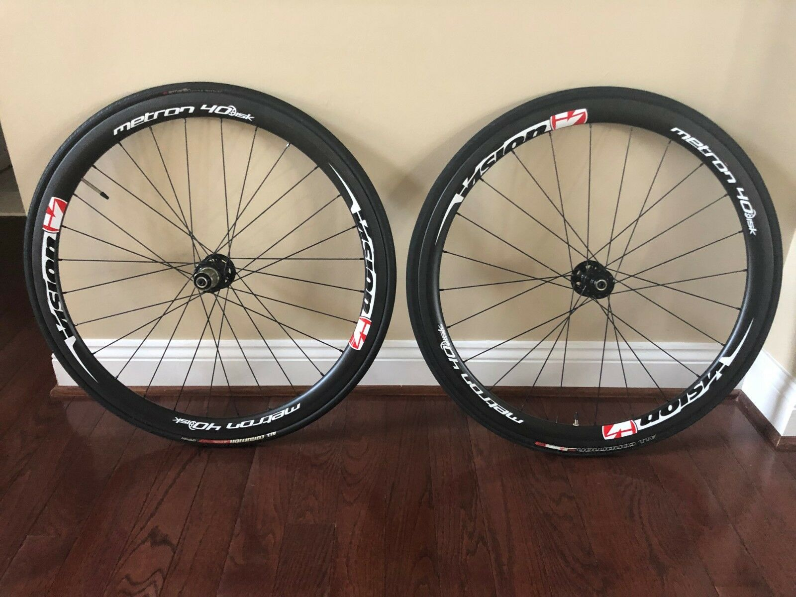 Metron  Vision 40 Disc Carbon Racing Wheels - Clincher  sales online