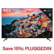 TCL 55-inch 4K Ultra HD HDR Roku Smart TV - 55S525