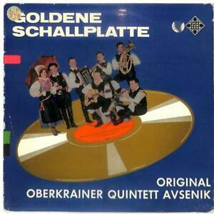Original-Oberkrainer-Quintett-Avsenik-Goldene-Schallplatte-LP-Vinyl-Record