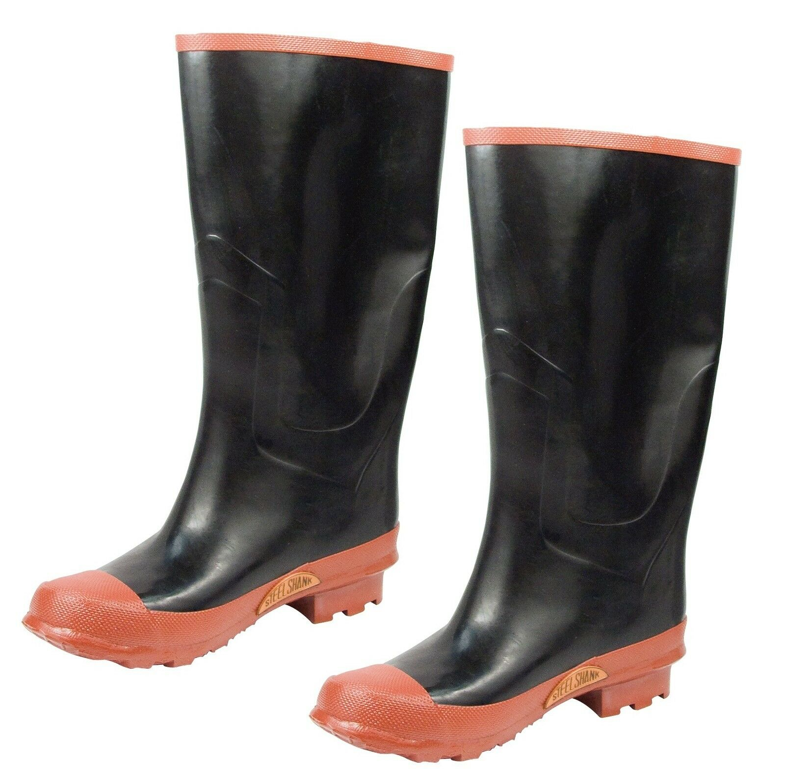 Rubber Knee Rain Boot Size 5-13   Rainboot Great For Wet Weather Snow Mud & More