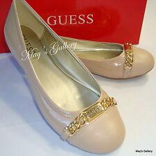 GUESS Jeans Shoes Flat Flats Heel Flip Flops Sandals Flop shoe Ballet NIB  8