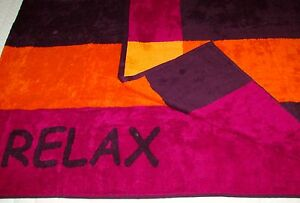 Toalla-de-playa-Sauna-bano-034-Relax-034-Panuelo-bienestar-70x180-cm-100-Algodon