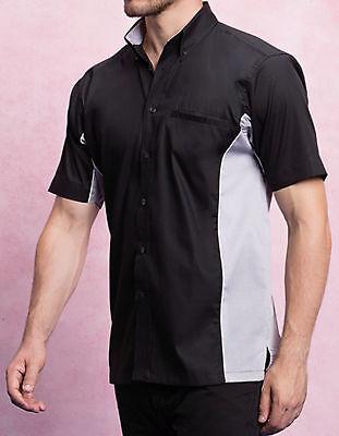 Gamegear Sporthemd Herren Hemd Kurzarm Kontrast S M L XL XXL Fair Wear Öko Tex | eBay