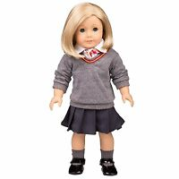 Hermione Granger-inspired Doll Clothes For American Girl Dolls: 6pc Hogwarts-...