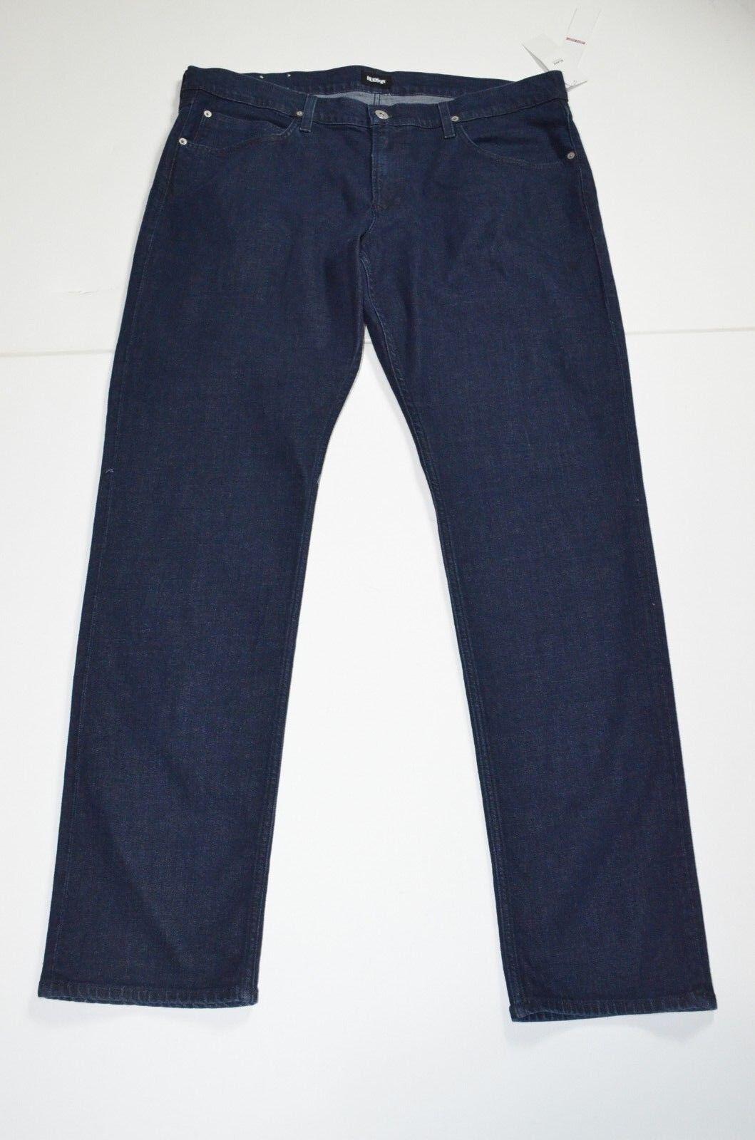 MSRP 175 NWT Hudson Blake Dark Wash Jeans Slim Straight Sz 40 x 35