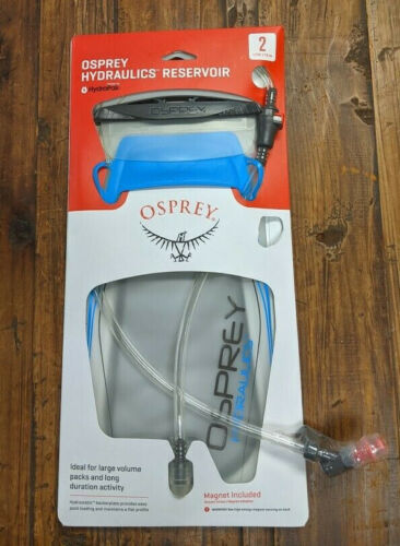 10000485 Osprey 2-Liter Hydraulics Reservoir Blue
