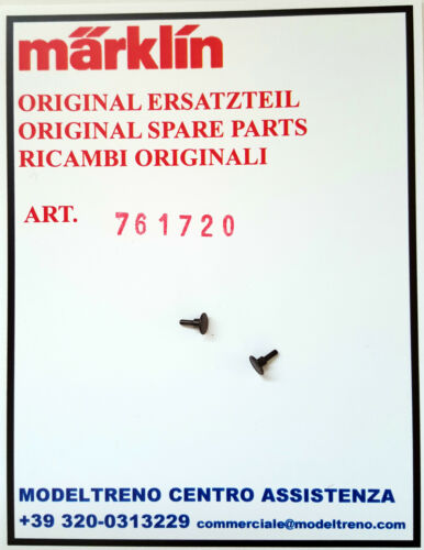 2pz 2 Stück -  PUFFER MARKLIN   76172 761720  RESPINGENTE