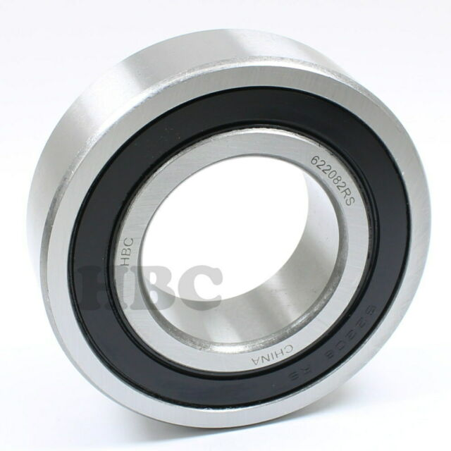 Ball Bearing HBC 62//22-2RS With 2 Rubber Seals 22x50x14mm
