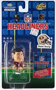 Corinthian Headliners NFL Steve Young Football Figure NIP 1996