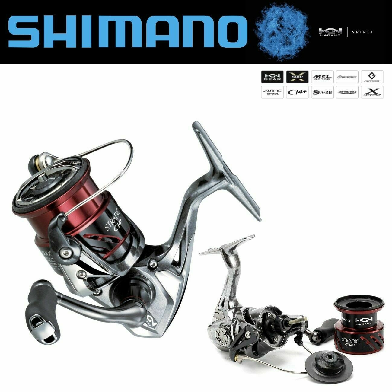 Shimano Spinning Cocheretes Stradic CI14