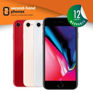 Apple-iPhone-8-64GB-256GB-Silver-Grey-Gold-UNLOCKED-SIM-FREE-Smartphone