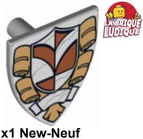 Lego 1x Minifig Schild Town Hall Grau Light B Gray 3846pb33 10224 Neu