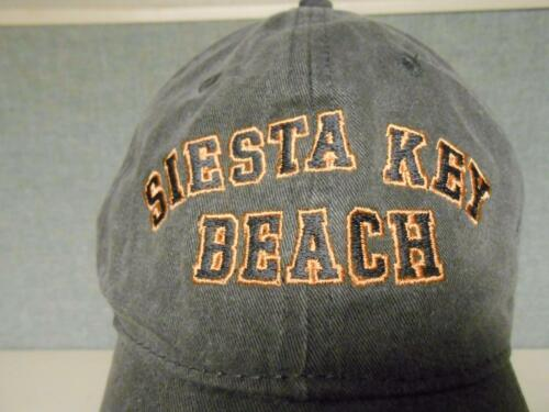 NEW SIESTA KEY BEACH  MENS SIZE M MEDIUM  Cap Hat BIN-92