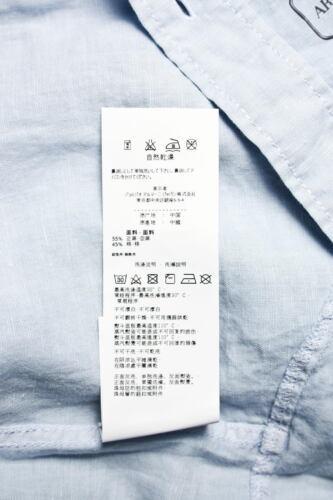 Jeans Printemps Lin Clair T6c35gu Armani Homme Eté Shirt Shirt Aj L3 Bleu Man Uwx5TH