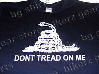 Dont Tread On Me Tea Party Long Sleeve Navy T Shirt M-2x Come And Take It 2a