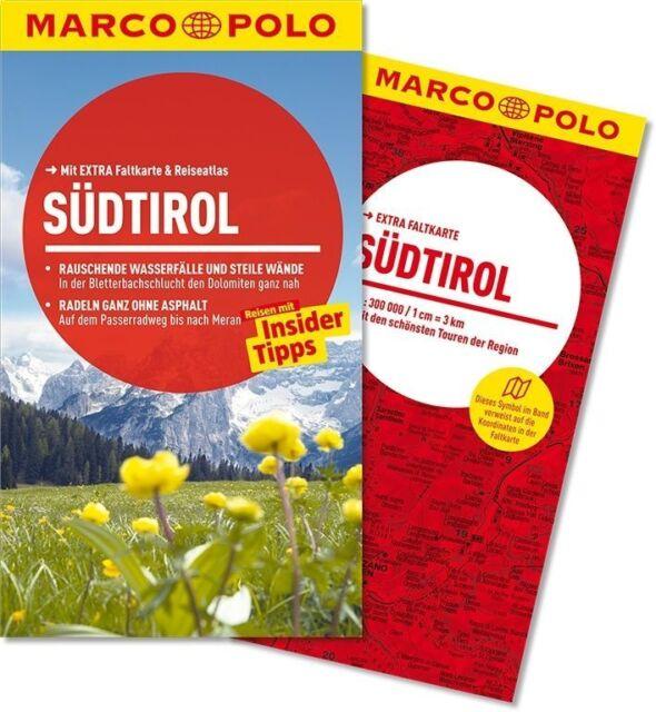 !! Südtirol Italien 2014 + Karte Bozen Meran Pustertal Reiseführe  Marco Polo