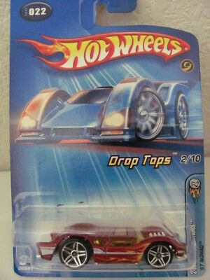 2005 Hot Wheels Drop Tops First Editions /'57 Nomad 22