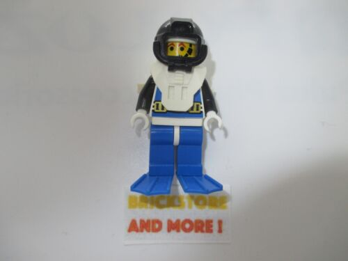 Aquanaut 3 Blue Flippers aqu029 Lego Minifigures