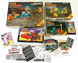 Matchbox-Linkits-Box-amp-Manual-Bundle-Vintage-1990s-150BA