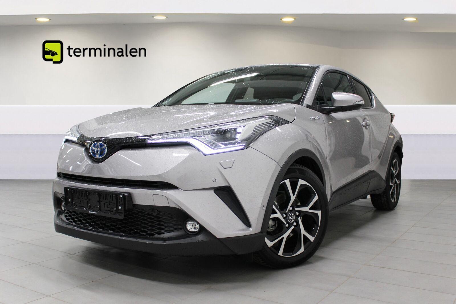 Toyota C-HR 1,8 Hybrid Premium Selected CVT 5d - 259.700 kr.