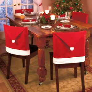 Party-Christmas-Decoration-Table-Red-Hat-Decor-Dinner-Chair-Cover-Clause-1pcs