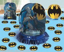 Batman Superhero Table Decorating Kit Birthday Party Supplies Decoration Bat Man