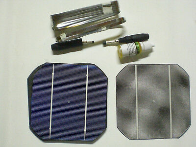 45w Solar Cells celula solar x 18 Photovoltaic SOLAR panel kit Kit placa