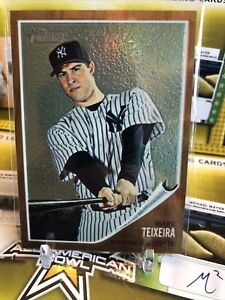 2011 Topps Heritage Chrome #C98 Mark Teixeira New York Yankees 28/562