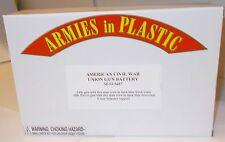 Armies in Plastic 5687 - American Civil War - Union Gun Battery       1:32 Scale