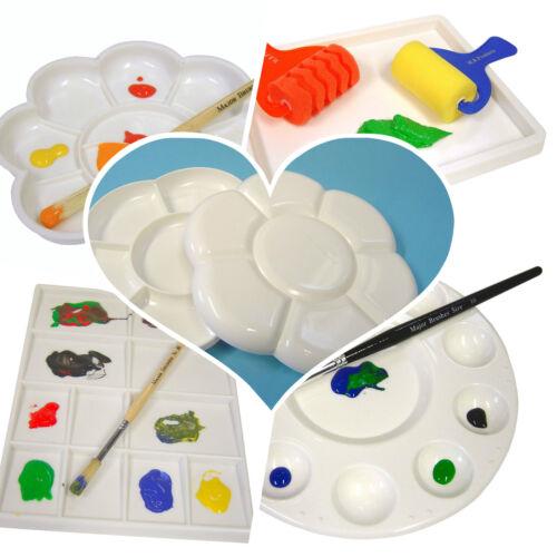 Paleta de Pintura bien Paleta de Pintura de mezcla-para el diseño de arte artista//en varios