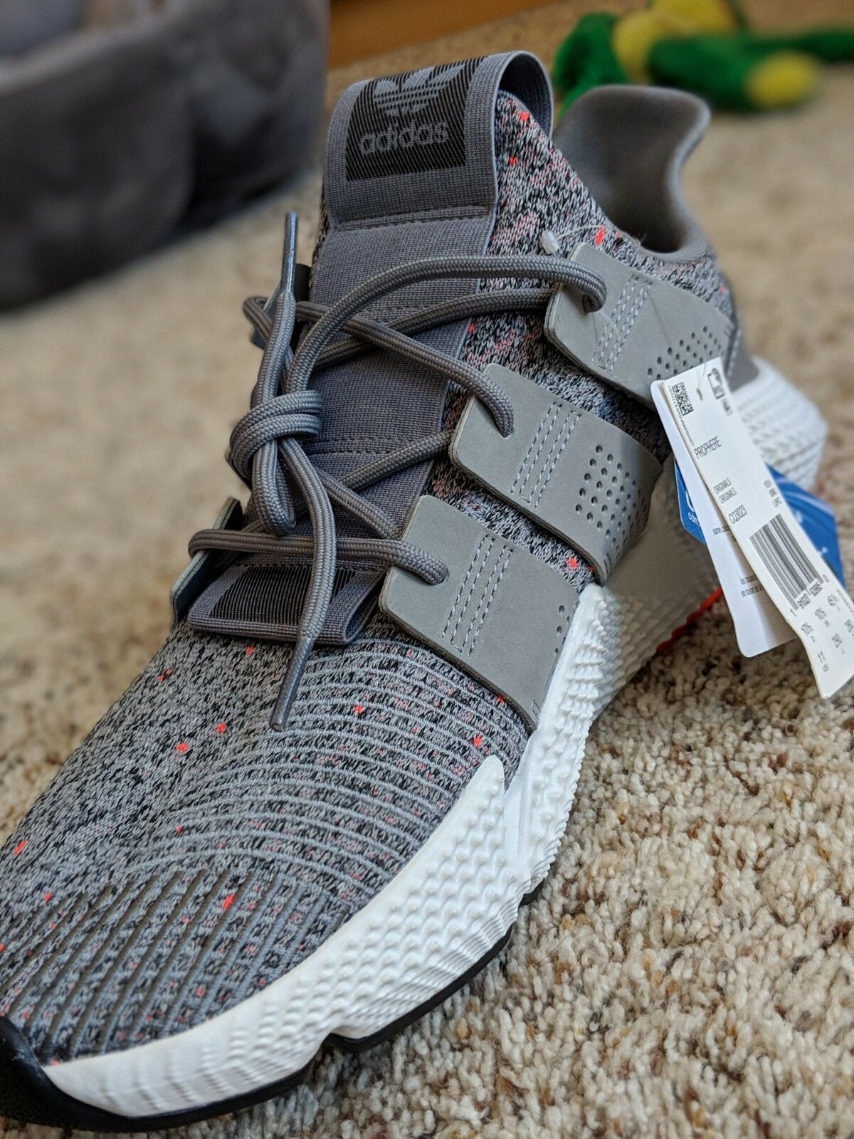 Adidas Prophere Sneakers Casual shoes Trainers Men's - Grey - M11