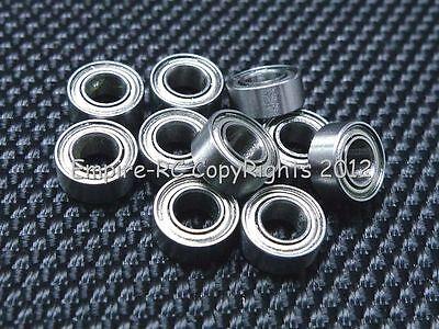 (4pz) R133zz (0.2cm X 0.5cm X 0.2cm) Metallo Schermato Cuscinetto A Sfera R133