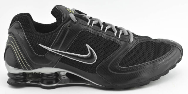 timeless design 47ca6 f2620 MENS RARE NIKE SHOX RNG 2006 RUNNING SHOES SIZE 12 BLACK GRAY SILVER 314181  002