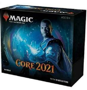 Magic Core Set 2021 Bundle Factory Sealed M21 Core Set 2021 (10 Draft Boosters)