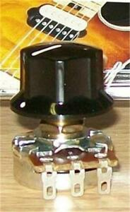 EVH-Wolfgang-Black-Control-Knob-Fits-Bourns-EVH-Solid-Shaft-Pots-Brand-New
