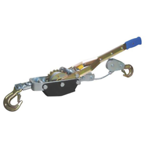 Heavy Duty 4 Ton Come Along Hand Power Puller With 2 Hooks Pulling Dragging Tool