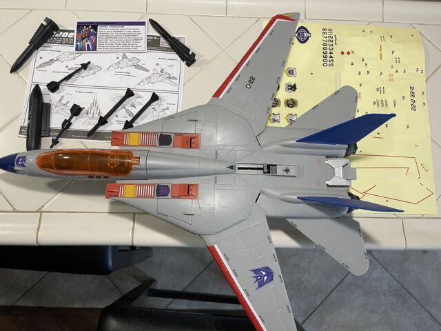 G.I. Joe Transformers Sky Striker Starscream 2011 SDCC L@@K Read Description