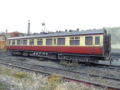 Bachmann Br Collett Coach W553 (lineside Weathered) 34-056a